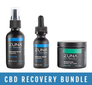 cbd oil recovery products